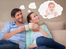 Couple souhaitant avoir un enfant